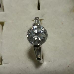 Size 8.5 CZ engagement ring
